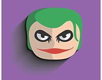 Joker - flat design