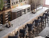Restaurant Interior Details - CGI