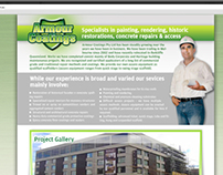 Armour Coating Website