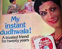 Vintage Indian Ads (1983-84)