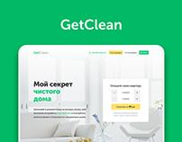 Get Clean / Web Design