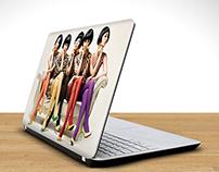 Laptop Skin Mock-Up