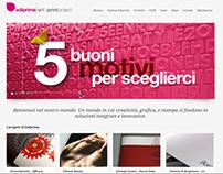 EDIPRIMA :: Web Site