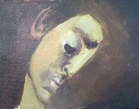Study of Caravaggio's 'David'