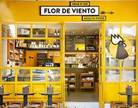 FLOR DE VIENTO Restaurant Branding