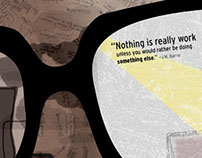 """Nothing Is Work"" Poster"
