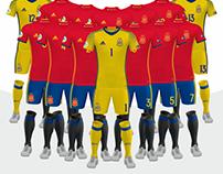 Spain Futsal Team Kits | UEFA Futsal EURO 2016™