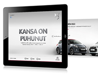 iPad ads for Citroën
