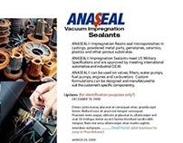 ANASEAL Industrial Sealants Website