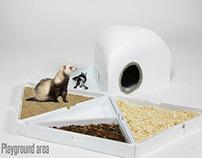 Iku | Ferret cage