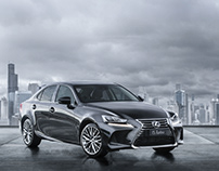 New Lexus IS | CGI & Retouching