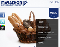 Marathon Distribution website proposal