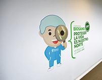 Campaña Interna Laboratorio Biosano