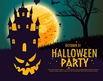 Hallooween Party - Motion Graphics