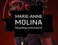 Logo + Webdesign : MARIE-ANNE MOLINA