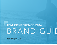TBM Conference 2016 Brand Guidlines