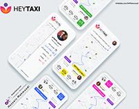 HeyTaxi app UI/UX
