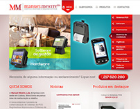 Website - Manuel Mestre, Lda
