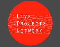 Live Projects Network Logo and Identity