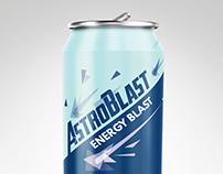AstroBlast energy drink