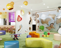 play area - cafe / crete