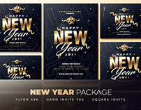 New Year Flyer Templates - Packages