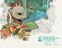 Propuesta Ilustración FICValdivia 2017