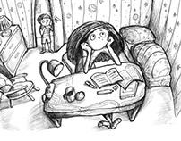Holidays with Nala - Book illustration