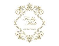 """Cartas Cocktails """"Freshly Made"""""""