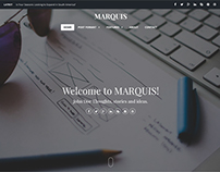 MARQUIS - Stylish & Content-Focused Theme
