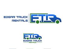 Logo design for Edgar Truck Rentals