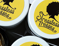 Stressless Tresses Logo & Labels