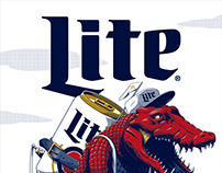 Miller Lite Gaming Posters