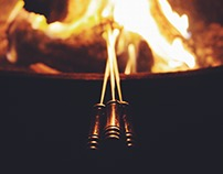 Campfire Photo Series