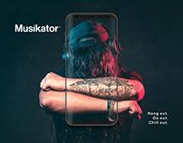 Musikator App - UX/UI Design