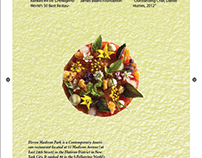 Restaurant Article Cover (InDesign)