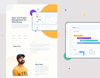 Sales and Project Management Dashboard Case