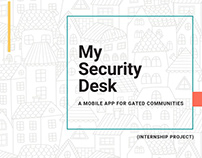 My Security Desk- A mobile app for gated communities