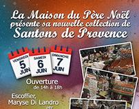 Foire aux Santons 2015 / Flyer
