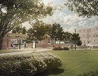 Park facility concept visualization