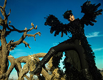 Black Raven. Dead Tree