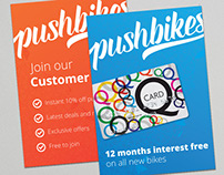 Pushbikes Posters