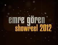 Emre Goren Showreel 2012