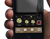 • iPhone UI Case Study - Amplifier App •