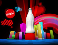 Coca-Cola - Night Visuals 2010