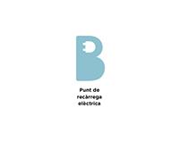 Punt de Recàrrega Elèctrica  de Barcelona