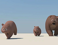 Bear animation