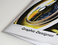 The social role of Graphic Designer booklet.