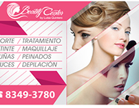 Beauty Center Window Vinyl