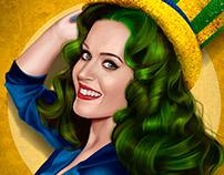 Katy Perry - Digital Painting